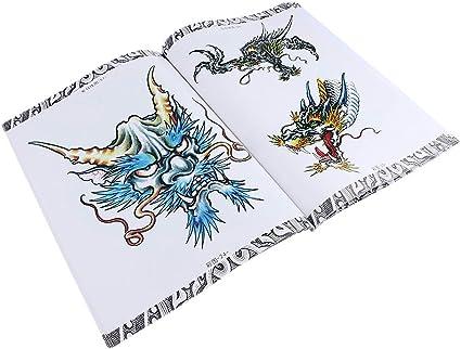 66 Páginas Libro Patrón Libros Tatuajes Manuscrito de Tatuaje Body ...