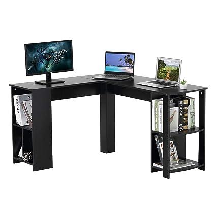 Dosleeps Computer Desk L Shaped Large Corner Pc Laptop Desk Study