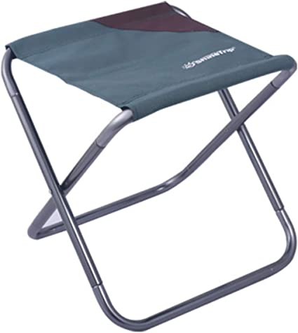 Azarxis Mini Camping Stool Chair Seat Folding Low Lightweight Heavy Duty Compact Ultralight Portable for Army Fishing Beach Backpacking Hiking Picnic Lawn Camp Travel Garden