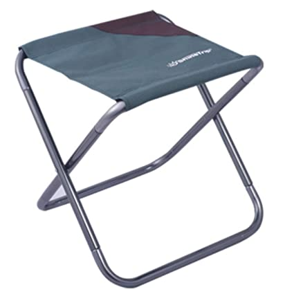 Portable Folding Chair Stool Seat Outdoor Fishing Garden Picnic Park Green L