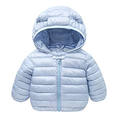 0f1e5a9b5e30b 0-2 Year Old Infant and Toddler Baby Boys Girls Winter Warm Cotton Coats  Jacket