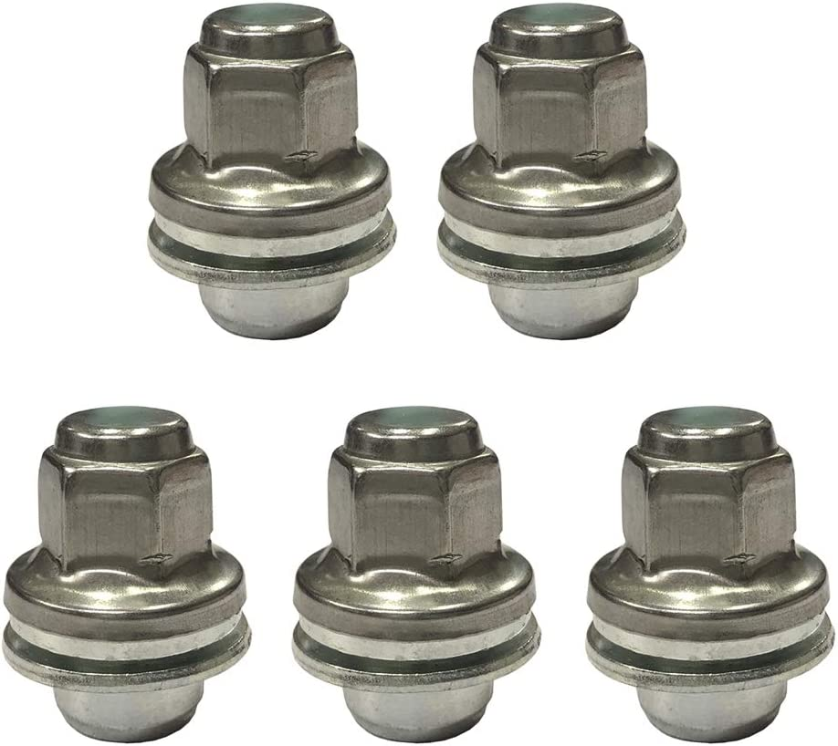 H HILABEE 5 St/ü Factory Style Lug Mutter 5er Pack Chrom F/ür Jaguar X Type S Type All