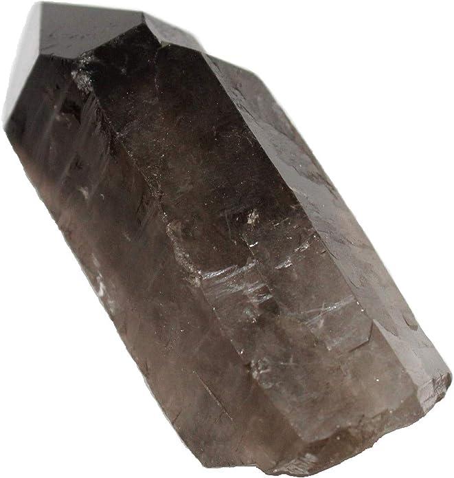 Natural smokey citrine quartz crystal minerals specimen crystal healing 2pcs
