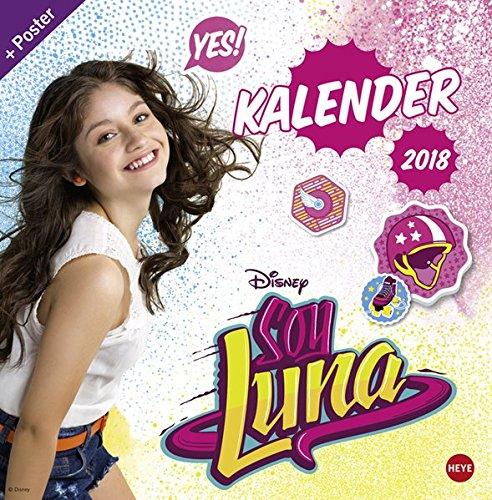 Soy Luna Broschurkalender 2018: Amazon.es: Libros