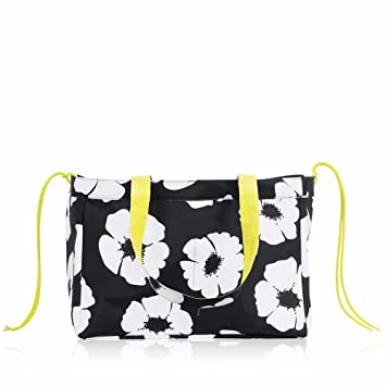 9aab7bacacdf Amazon.com  Thirty One Soft Utility Tote in White Poppy (No Monogram)  All  Star Sales