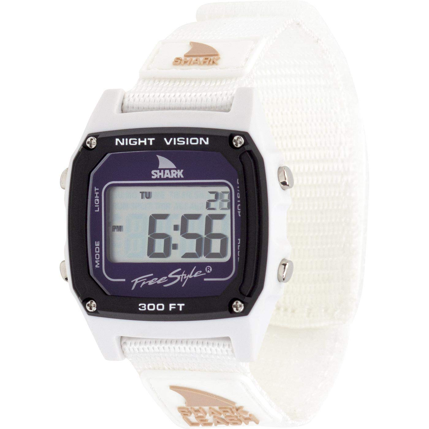 Freestyle Shark Classic Leash White Dolphin Unisex Watch FS101064