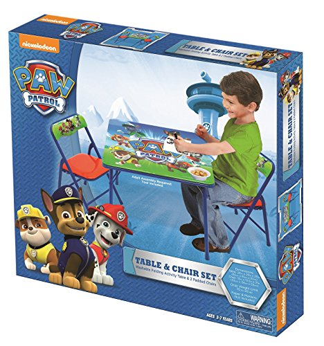 Paw Patrol Activity Table Sets Homegoodsreview