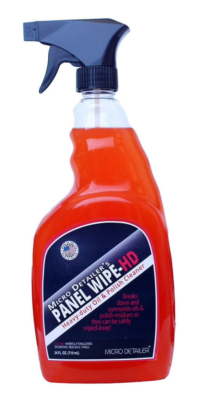 Micro Detailer Panel Wipe HD-Heavy-Duty Oil & Polish Cleaner