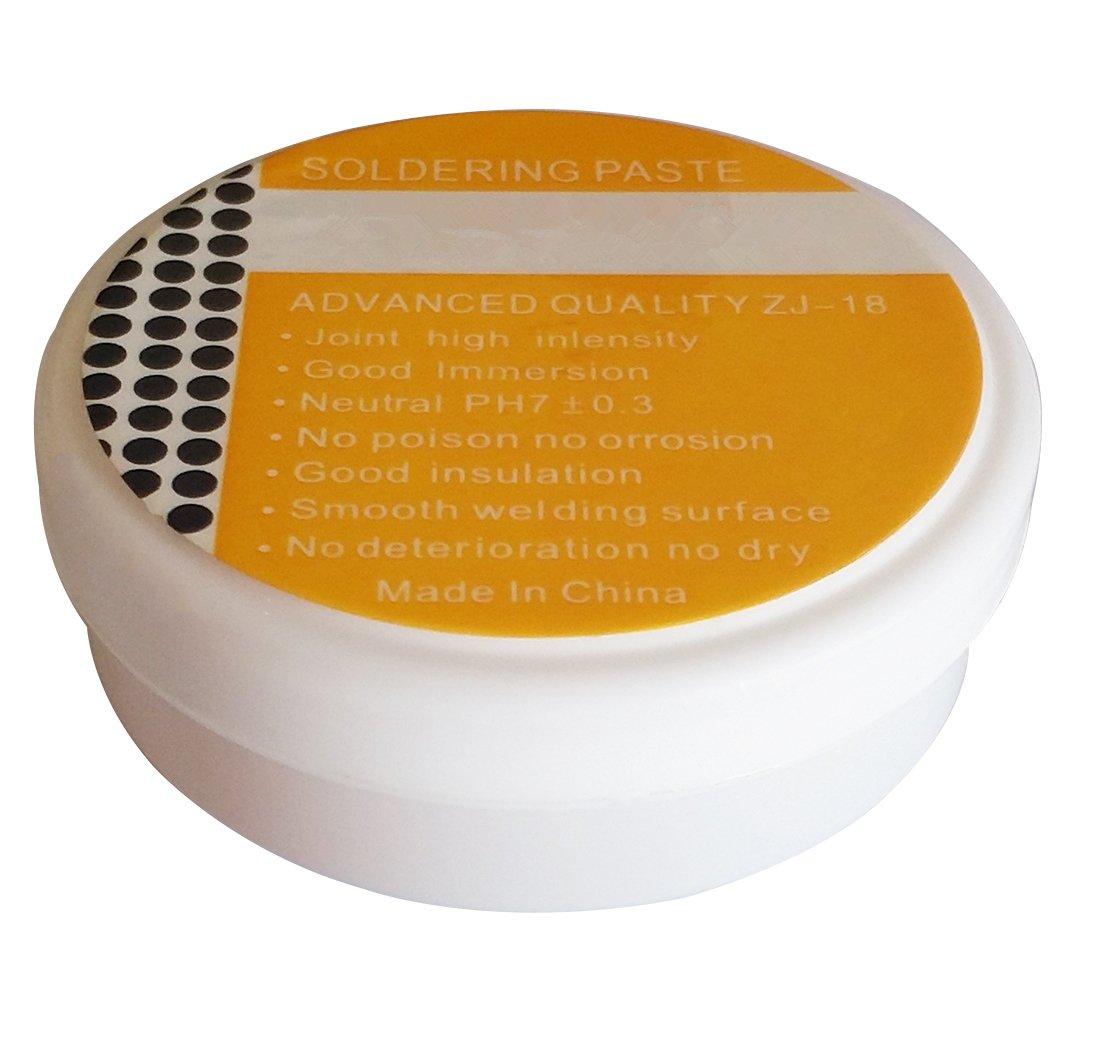 SFTlite 30g pasta de soldadura – soldadura Flux estaño – este fundente para soldadura de alambre de metal lata
