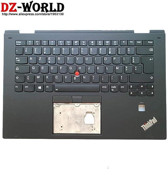 Nuevo/Orig Palmrest Estuche Superior con Teclado francés retroiluminado para Lenovo Thinkpad X1 Yoga 2da Gen Laptop C Cover 01Hy811 01Hy891: Amazon.es: Electrónica