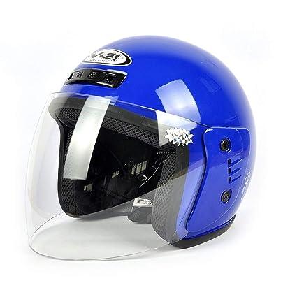 Amazon.es: Casco eléctrico de motocicleta Niños y niñas Cascos ...