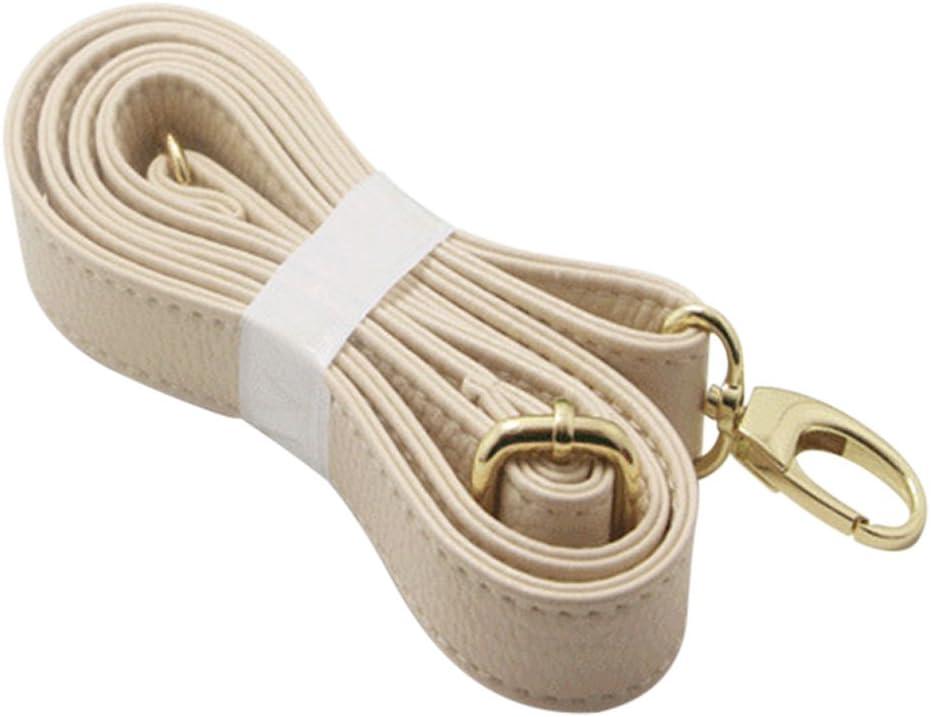Réglable en simili cuir sac d/'épaule Sangle de remplacement pour bandoulière sac à main blanc