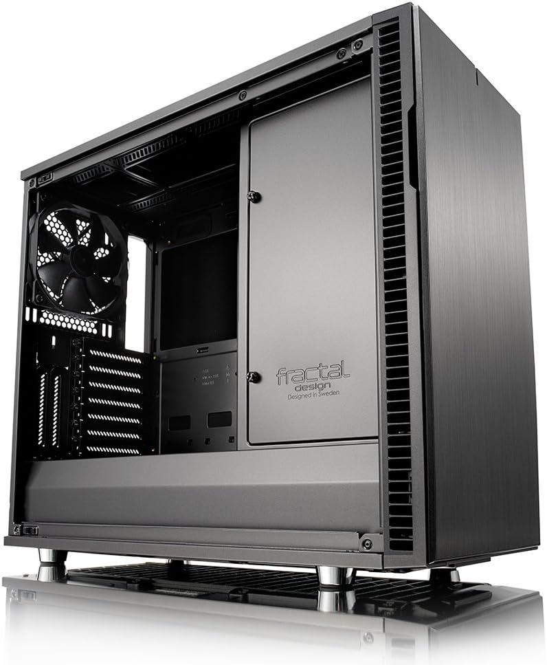 Fractal Design Define R6 Grey Tempered Glass Computer Zubehör