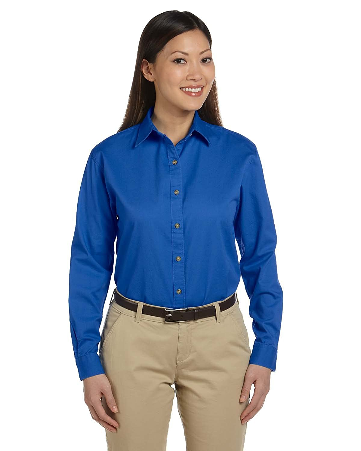 Devon & Jones D500W Ladies' Long-Sleeve Titan Twill