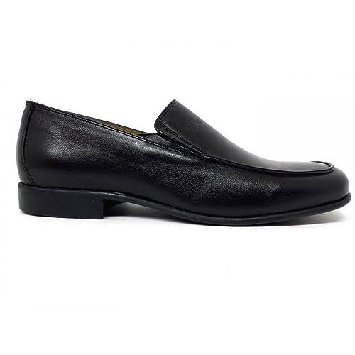 Trotters - Mocasines de Piel para Hombre Negro Ner0 Negro Size: 44 EU: Amazon.es: Zapatos y complementos