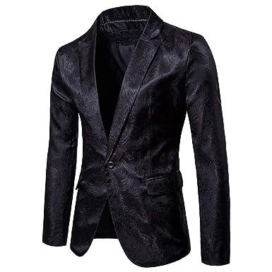 Suits Man - Chándal para Hombre, 1 botón, Corte Ajustado, para ...
