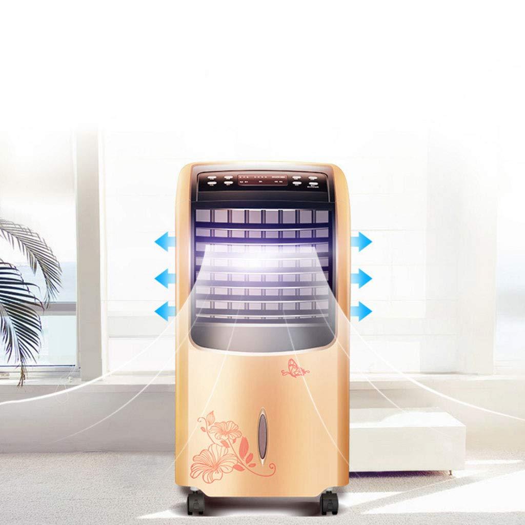 HU HAO UK Aire Acondicionado- Calefactor Aire Acondicionado Ventilador Calefacción Ventilador Inicio Refrigerador Móvil Pequeño acondicionador de Aire ...