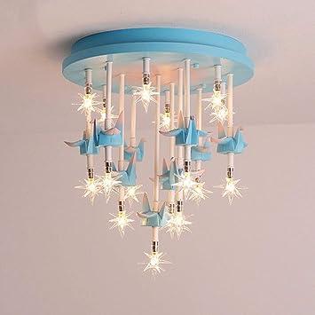 Amazon.com: QLIGHA - Lámpara de techo LED con diseño moderno ...