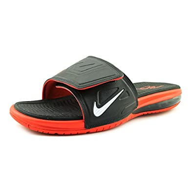 purchase cheap 8e766 789bc Nike Air Lebron Slide 3 Elite Men Slider Black/LT Crimson ...
