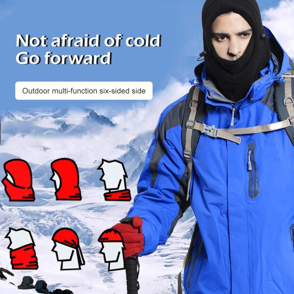 LQMILK Winter Lightweight Full Mask Outdoor Windproof Ski Face Mask Warm Headhood Hat