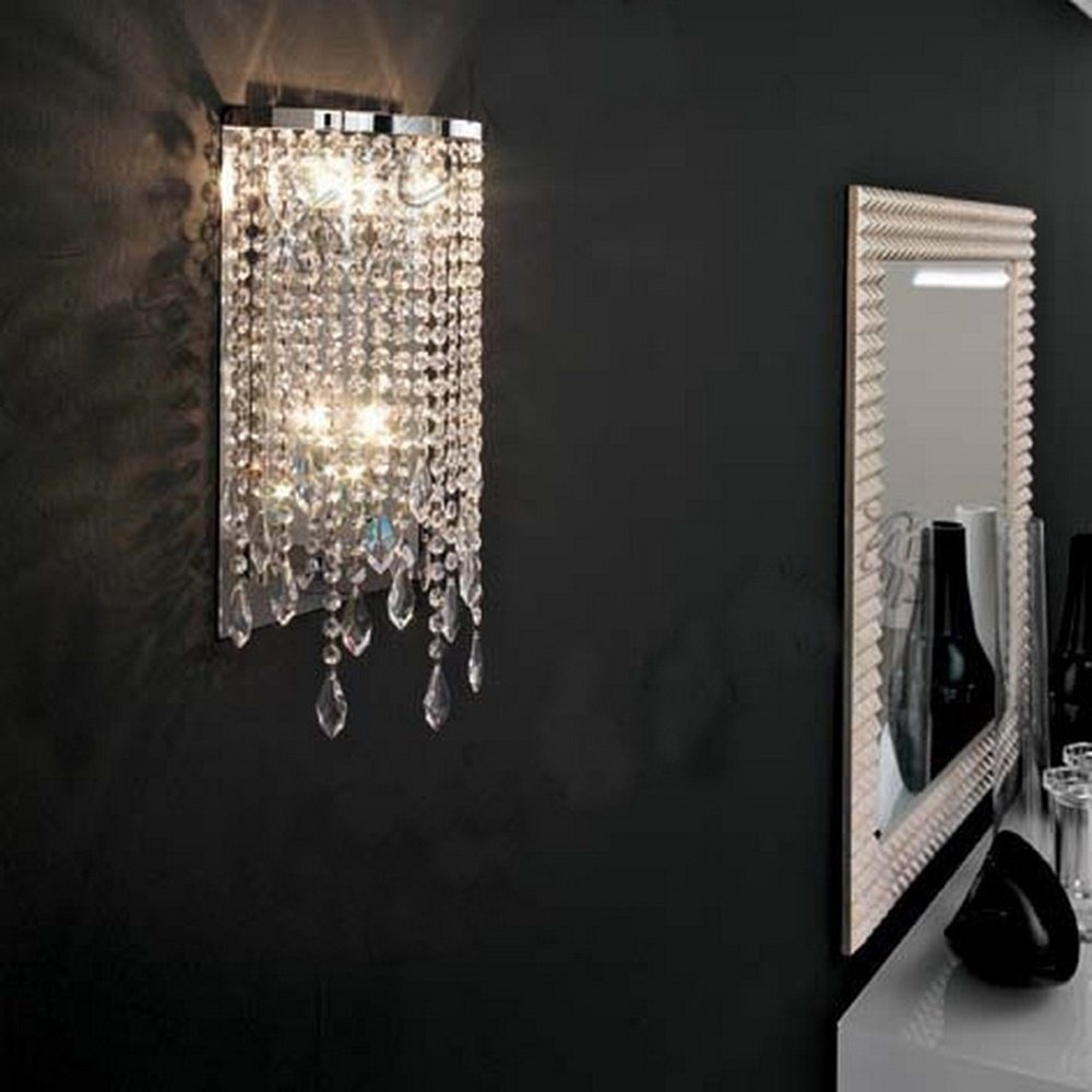 Wandleuchte Wandleuchten für Schlafzimmer - European Style Lamp Europäischen Stil Lampe Nachttischlampe Feld Garten Spiegel Lampe
