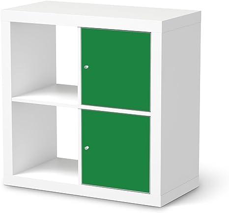 Muebles-Aufkleber Folie para IKEA kallax estanterías 2 ...