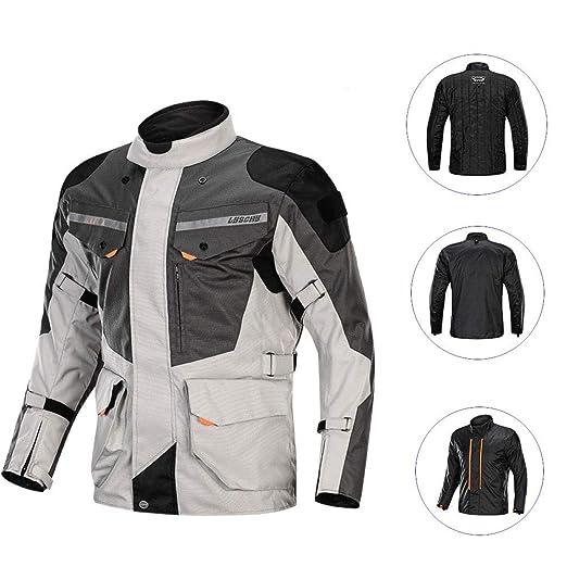 nnn Chaqueta De Moto Hombre Impermeable Breathable ...