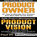 Agile Product Management: Product Owner 27 Tips & Product Vision 21 Steps Audiobook by  Paul Vii Narrated by Randal Schaffer