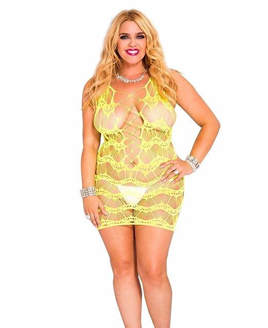 Amazon Music Legs Womens Plus Size String And Net Wavy Spandex