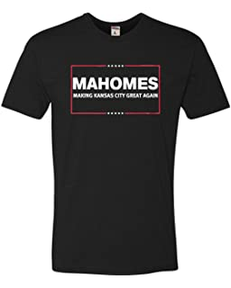 Go All Out Adult Mahomes Making Kansas City Great Again Deluxe T-Shirt 366bc933e