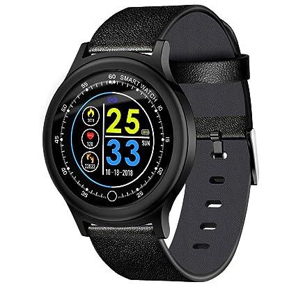 VEHOME Pulsera de Actividad Inteligente Reloj-Pulsera Elegante de la Pantalla a Color Q28-