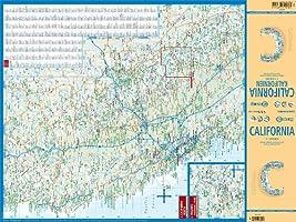 California, mapa de carreteras plastificado. Escala 1:1.200.000 ...