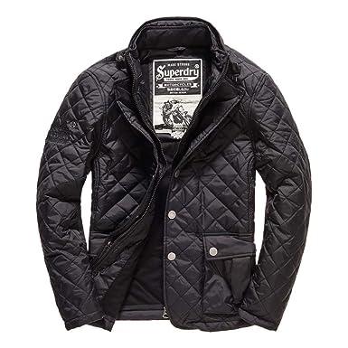 a9fd900d7589e6 Superdry Men s Apex Quilt Short Jacket Black (Small)  Amazon.co.uk ...