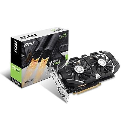 Amazon.com: MSI GeForce GTX 1060 6GT OCV1, GTX_1060_6GT_OCV1 ...