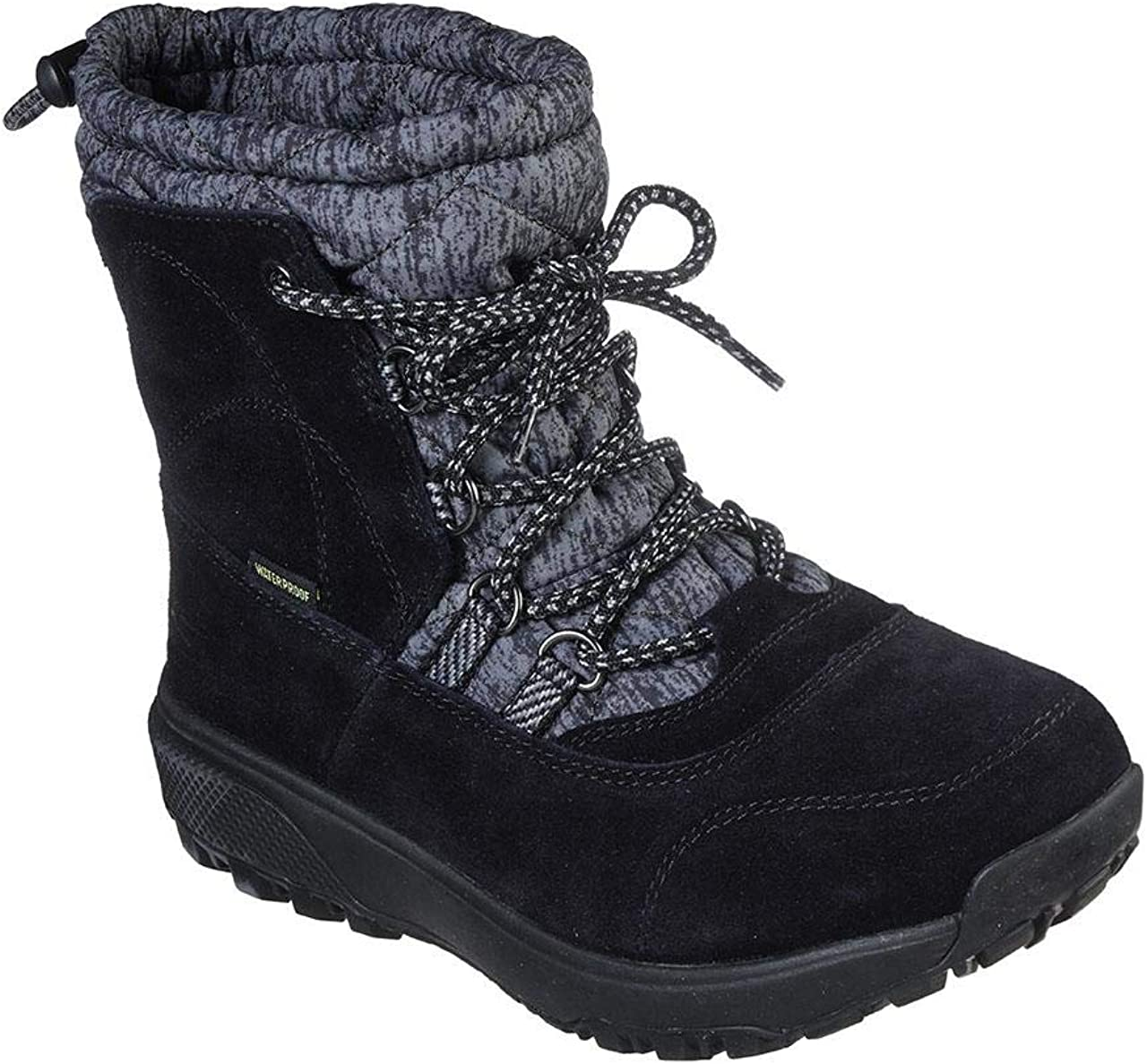 Skechers On The Go Outdoors Ultra - Stivali da donna a metà polpaccio Nero Grigio