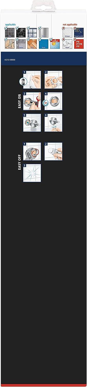 tesa Hukk No Drill Removable Adhesive Glue Technology Chrome-plated Metal Wall Mounted Bath Towel Hhook