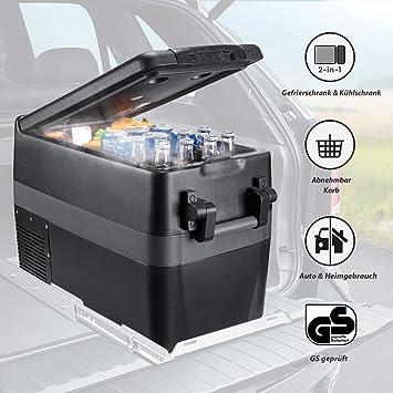 Issyzone - Nevera eléctrica portátil con compresor, de -18 a 10 °C ...