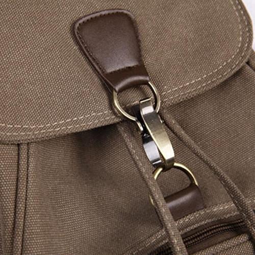 Retro Rucksack Shoulder Vintage blue Navy Women Student Travel Backpack New Canvas Satchel Bag Bqqz8Zr