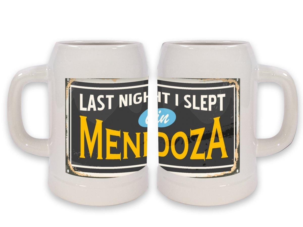 Jarra de Cerveza Viaje Cocina Mendoza Argentina impreso