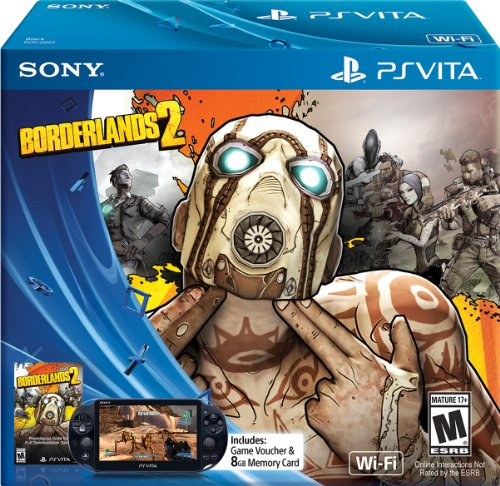 Sony Psp Crystal - Borderlands 2 - Limited Edition - PlayStation Vita Bundle