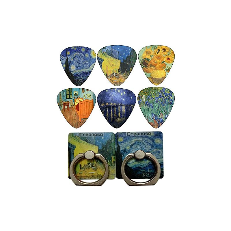 Vincent Van Gogh Guitar Picks (12-Pack)