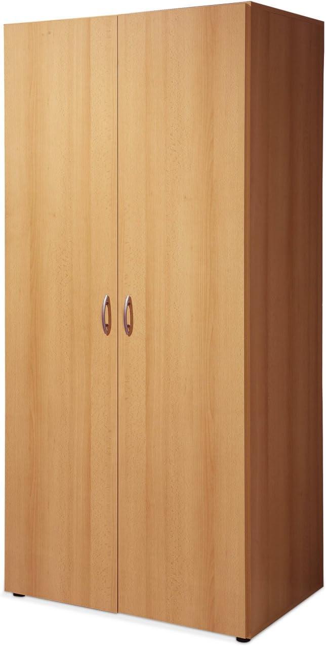 Kleiderschrank Schlafzimmerschrank Drehturenschrank Holzoptik
