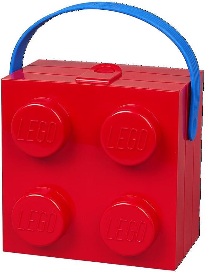 LEGO Room Copenhagen 4024- Fiambrera con Asa, color rojo, 16x10x16 cm