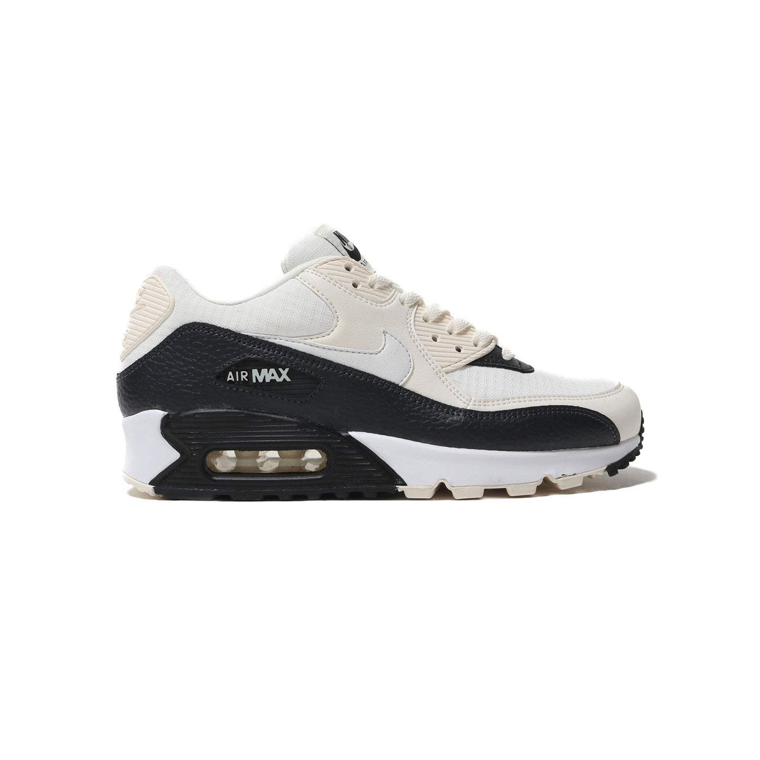 super popular ece16 d3e1d Nike Women's Air Max 90 Pale Ivory/White/Black 325213-138 (Size: 7)