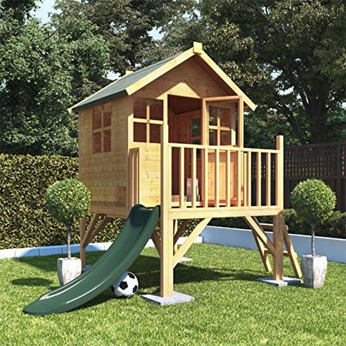 BillyOh - Casa de Juegos de Madera para niños (4 x 4, con tobogán), diseño de Conejo: Amazon.es: Jardín