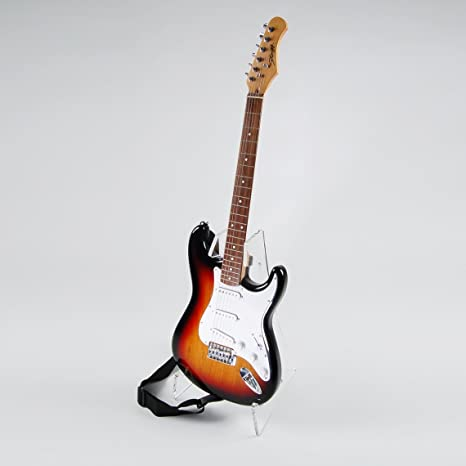 Acrílico transparente soporte para guitarra: Amazon.es ...