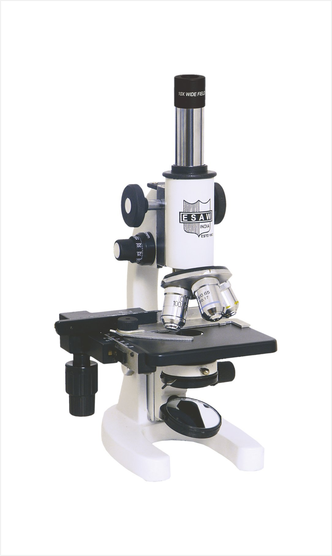 Very INDIA ESAW Semi-Plan Achro 100X Oil Immersion Objective