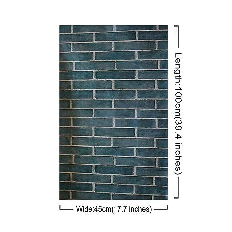 45×100 Cm Backsplash Peel Und Stick Moldproof Wandaufkleber Wohnzimmer  Küche Dekoration Wandtattoos (Natur Backstein): Amazon.de: Baumarkt