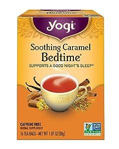Yogi Tea, Soothing Caramel Bedtime, 16 Count
