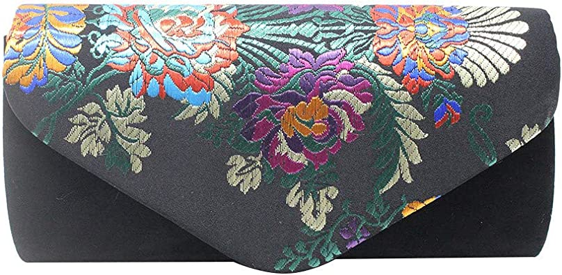 Girl Evening Wedding Dress up Bag Handbag Purse Sequin Embellishments Bow Purple